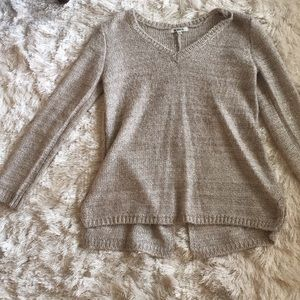 BB Dakota Sweater with Clear Sequin Sz S